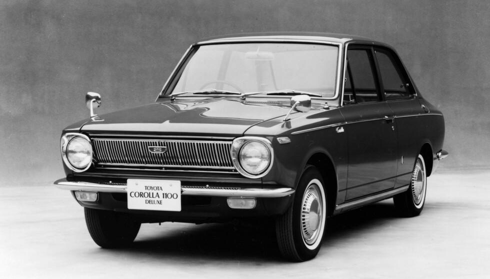 TIDENES MEST SOLGTE BIL: Toyota Corolla har vært en suksess siden dag én. Foto: Topfoto/Scanpix