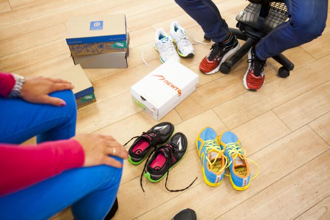 HVILKE SKAL DU VELGE? Du bør selvsagt prøve skoene før du handler, men dersom du har prøvd dem og vet at de passer, kan du jo i prinsippet kjøpe skoene hvor som helst, også på nett. Foto: Per Ervland