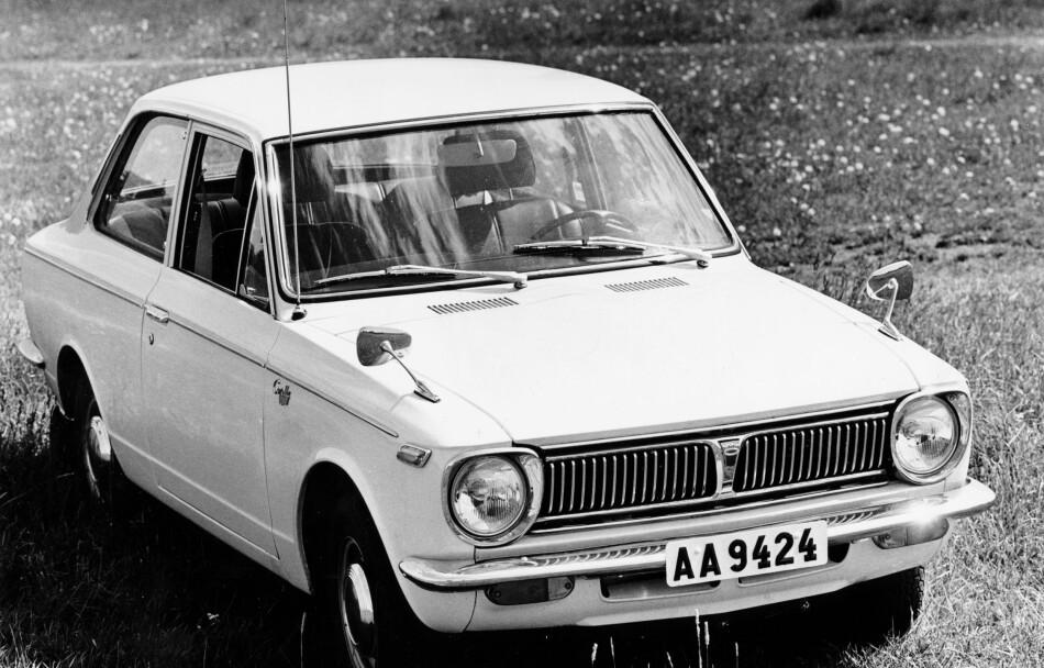 GAMMEL STORSELGER: Toyota Corolla pleide å selge godt i Norge før i tiden. Men etter 2013 har ikke modellen blitt levert til det norske markedet. Foto: Arne Jönsson / SCANPIX