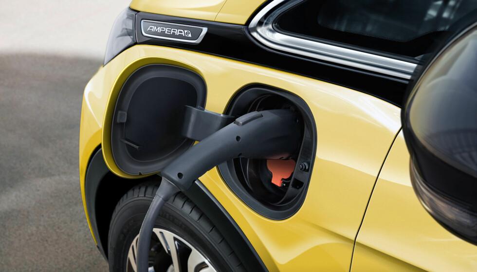 På pinebenken: Opel har holdt oppgitt rekkevidde for seg selv - helt til nå. Foto: Opel