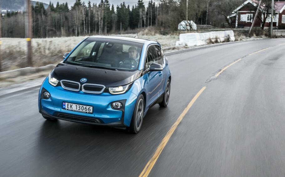 Best i miljøtest: BMW i3 kommer best ut i ADACs test av miljøbiler. Foto: Jamieson Pothecary