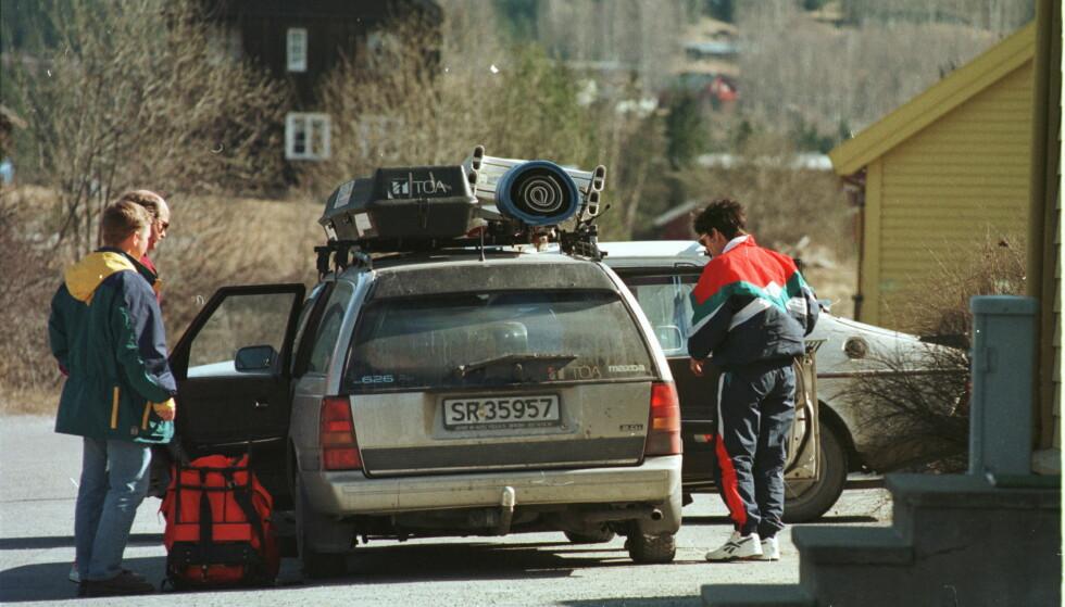 ANDRE TIDER: Det er ikke lenger bare bagasjeplassen som er utfordringen med bilferien. Nå bør vi også tenke over om WiFi i bilen er en god idé. Foto: Rolf Chr. Ulrichsen
