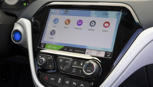 To løsninger: Bilen støtter både Android Auto og Apple Car Play. Foto: Fred Magne Skillebæk