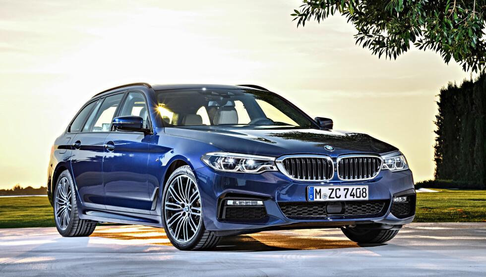 KNALLMÅNED: Både for bilmarkedet og for BMW ble januar en svært god salgsmåned, målt i antall nye registrerte biler. Og takket være avgiftsomlegging, kom det offisielle snitt-utslippet på bare 84 gram CO2 per kilometer - lavere enn myndighetenes klimamål for 2020. Foto: BMW
