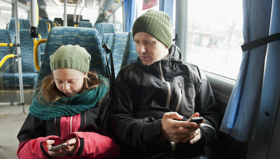 NÅ KAN DU RULLE DATA: Ice.net- og noen Talkmore-kunder får nå med seg data de ikke bruker opp av datakvota til neste måned. Foto: Julia Sjoberg / Folio / NTB Scanpix