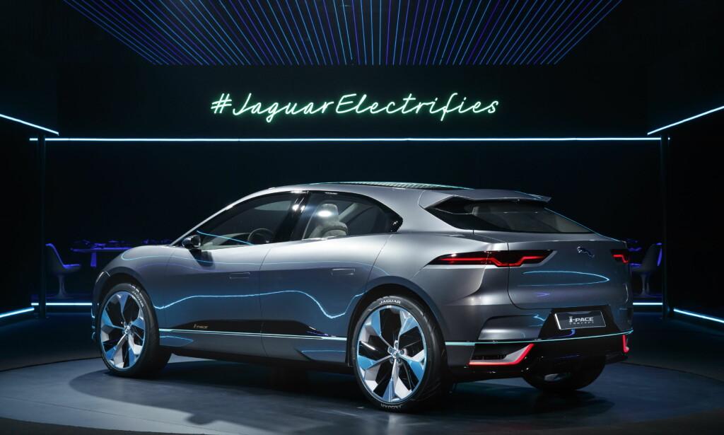 Vist i Los Angeles: Bilen ble første gang avduket på bilmessen i Los Angeles i desember. Foto: Jaguar