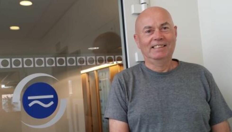 ENIG: Også fagsjef Bjørn Sørensen i Nelfo advarer mot å vaske klær eller tallerkener mens du selv ligger i senga.