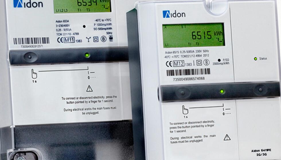 AVANSERTE: De nye strømmålerne mange muligheter for strømsparing. Foto: Aidon