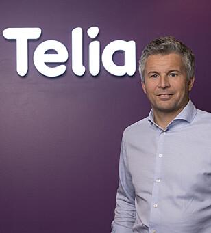 <strong>KOMMER SNART:</strong> Telia-direktør Ove-Mathias Lind lover at deres kunder også skal få datarulling snart. Foto: Telia