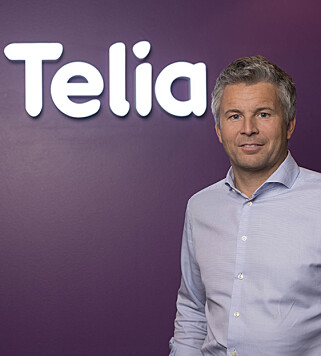 KOMMER SNART: Telia-direktør Ove-Mathias Lind lover at deres kunder også skal få datarulling snart. Foto: Telia
