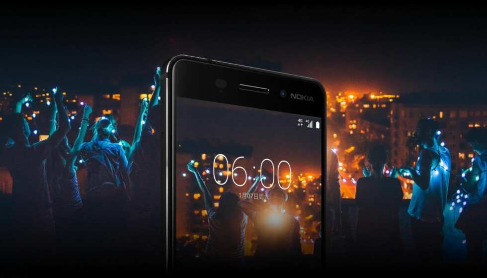 Nokia 6 er allerede lansert i Kina. Foto: Nokia