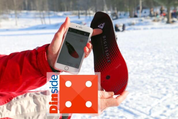 BEST I TEST: Varmesålene fra Digitsole er best i denne sammenlikningstesten, og holder selv tærne gode og varme. Men de er dyre. Og de får trakk for dårlig batterikapasitet: Drøye 2 timers driftstid blir for lite. Foto: Berit B. Njarga