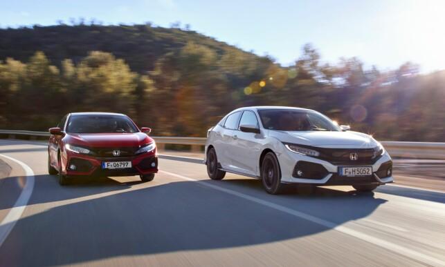 TURBO BENSIN: Mens vi venter på diesel-utgaven er det kun 1.0 og 1.5 bensinmotorer med turbo som gjelder. Men begge oppleves tilstrekkelig spreke. Foto: Honda