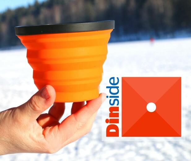 NEI, DENNE VAR IKKE BRA: Koppen X-Mug fra Sea to summit er både dyr og dårlig. Foto: Hanna Sikkeland