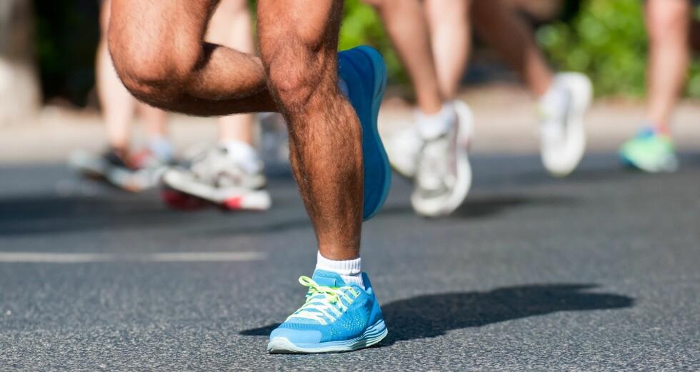 RIKTIG TEKNIKK? Hvordan du løper har noe å si for hvordan skoen slites.  Foto: PantherMedia / Rui Santos