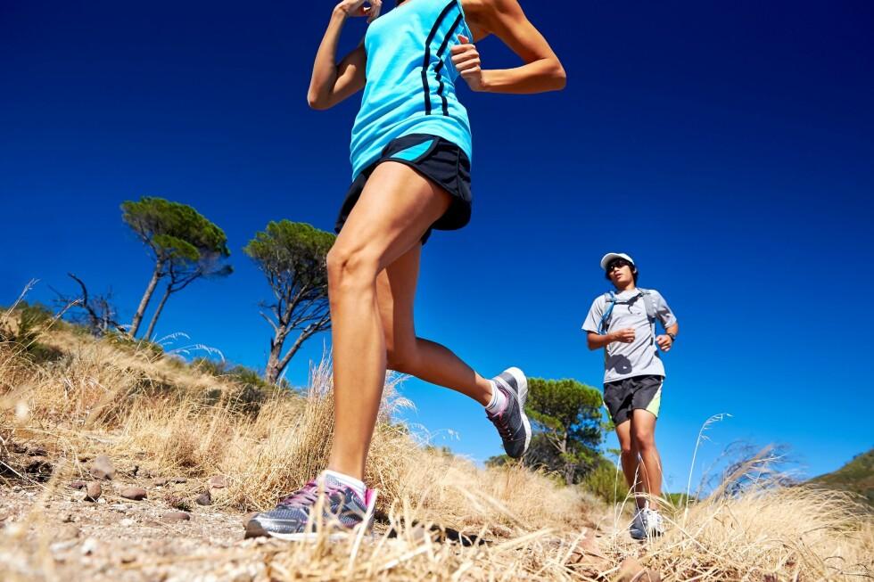 VEKT: Hvor mye du veier har mye å si for hvor ofte du må kjøpe nye joggesko.  Foto: PantherMedia / Warren Goldswain