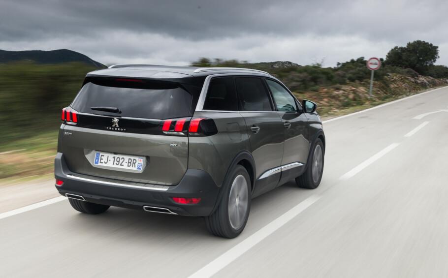 BLIR OGSÅ OPEL: Peugeot 5008 kan bli Opel Activa? Går det som Peugeot-sjefen vil, kommer denne som Opel-SUV i overskuelig fremtid. Foto: Peugeot