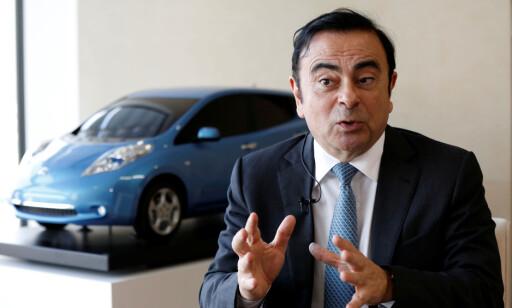 CARLOS DEN FØRSTE: Toppsjefen i Renault-Nissan-alliansen, Carlos Ghosn, som også nylig ble toppsjef for Mitsubishi da den japanske produsenten ble innlemmet i alliansen. Foto: REUTERS/Toru Hanai