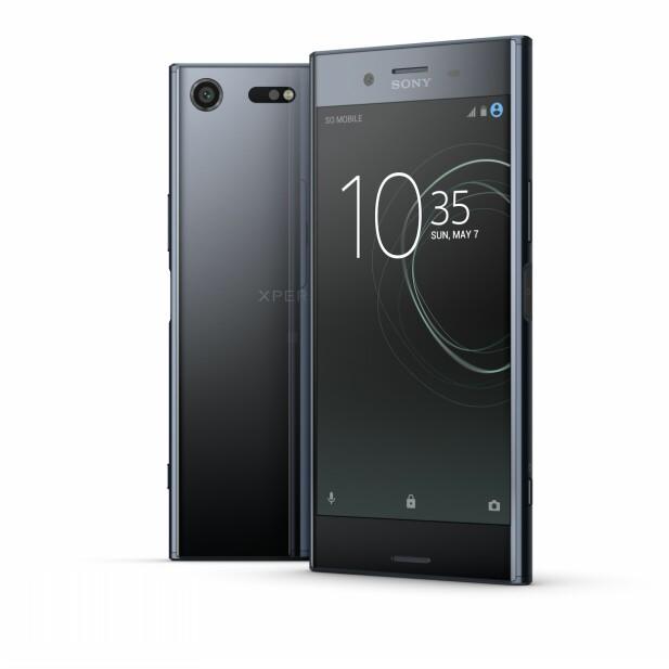 Xperia XZ Premium blir Sonys nye toppmodell når den lanseres i månedsskiftet mai/juni. Foto: Sony