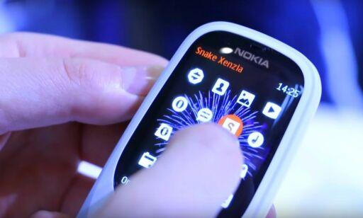 image: Nokia 3310 gjenopplives. Vi har prøvd den
