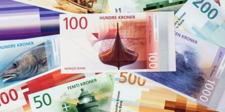 Snart kommer de første nye norske sedlene