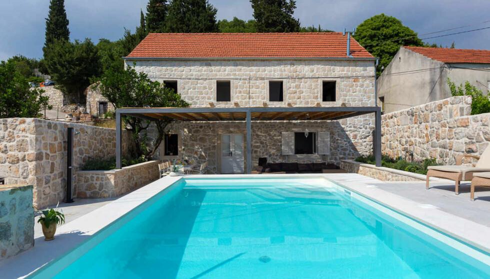 KROATIA BILLIGST BLANT SYDEN-FAVORITTENE: Italia er billigst av de mest populære Syden-favorittene, men Kroatia er aller billigst av landene i det typiske Syden-beltet. Denne boligen er til utleie i Kroatia. Foto: Wimdu