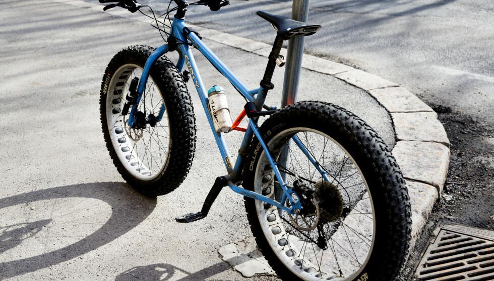 <strong>DETTE KAN DU LÅNE:</strong> Lyst til å teste ut fatbike? Det er noe av utstyret som finnes for utlån i Norges kommuner. Berit Roald / NTB