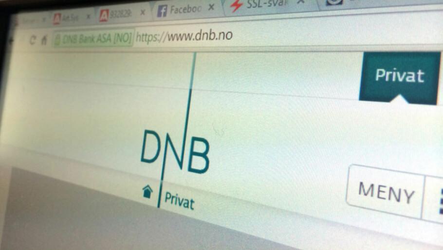 TEKNISKE PROBLEMER: DNBs nettbank har tekniske problemer, men problemet skal nå være funnet. Foto: Berit B. Njarga