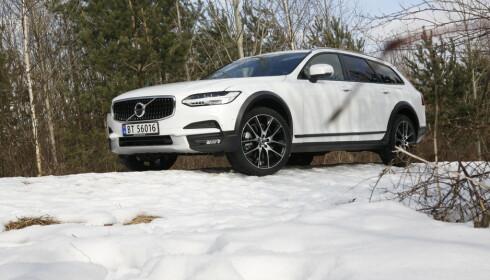 SUKSESS: Volvo V90 har bidratt kraftig til at den svenske produsenten fosser frem i 2017 med en markedsandel hele 1,7 prosentpoeng høyere enn i 2016 etter elleve måneder.