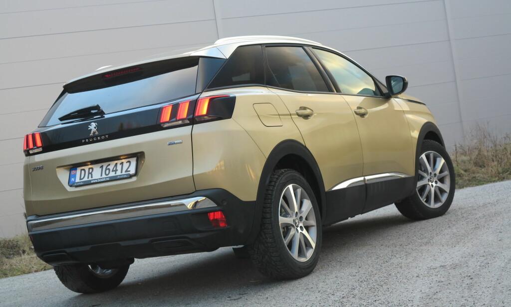 ÅRETS BIL I EUROPA: Peugeot 3008 - et kraftig løft for den franske produsenten, som i dag annonserte at de kjøper fjorårets vinner, Opel. Foto: Fred Magne Skillebæk