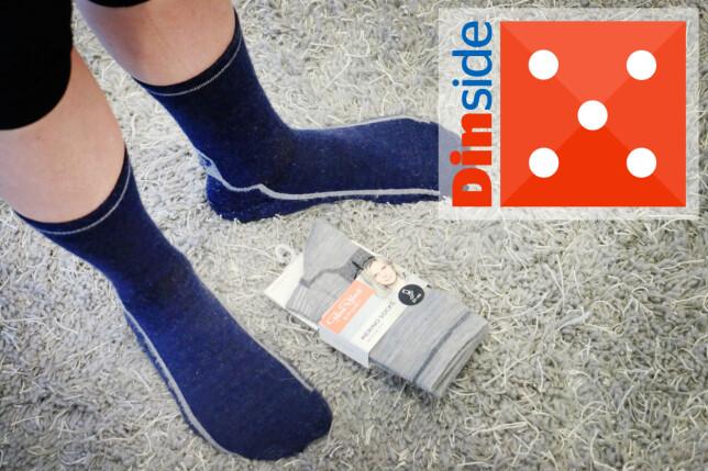 PIERRE ROBERT: De mykeste sokkene i testen. Gode hverdagssokker (som ikke skriker TUR på samme måte som Ulvang-sokkene egentlig gjør ...). Foto: Ole Petter Baugerød Stokke