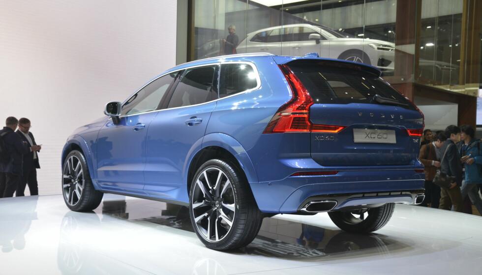 R-Design: Slik blir nye Volvo XC60 i R-Design. Foto: Jamieson Pothecary