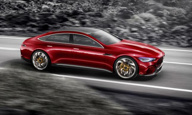 IKKE ENNÅ: Det presiseres ikke når en produksjons-utgave av konseptet vil komme på veien. Foto: Daimler