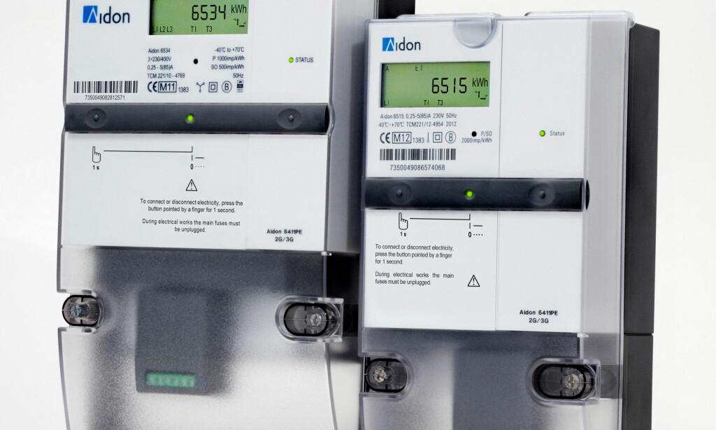 LITE AVVIK: Aidon-målerne er langt mer nøyaktige enn de strømmålerne som er testet i Nederland, hevder Hafslund. Foto: Aidon