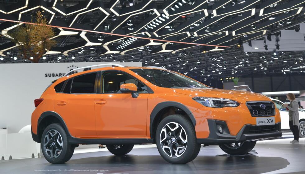<strong>SAMME FORMEL SOM SIST:</strong> Ta en Impreza av nyeste generasjon, sett den på et høyreist chassis med bakkeklaring som en SUV, legg til SUV-designelementer rund baut og - vips! Du har en ny Subaru XV. Foto: Jamieson Pothecary