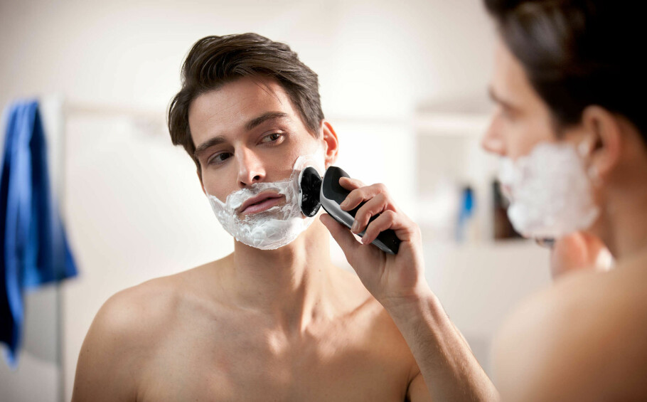 BARBERTE PRISEN: Expert.no hadde feil pris på denne barbermaskinen. Rabatten ble 98 prosent, noe som overhodet ikke var meningen, og kundene får ikke levert varen til avtalt pris. Foto: Philips