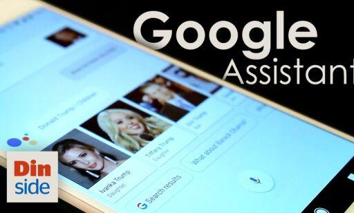 image: Slik er Google Assistant på en Google Pixel XL