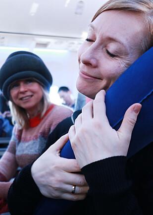 Travelrest gir god støtte, og er et greit reisefølge. Foto: Hanna Sikkeland
