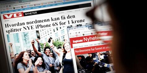 image: - Nordmenn oversetter svindlernes tekster
