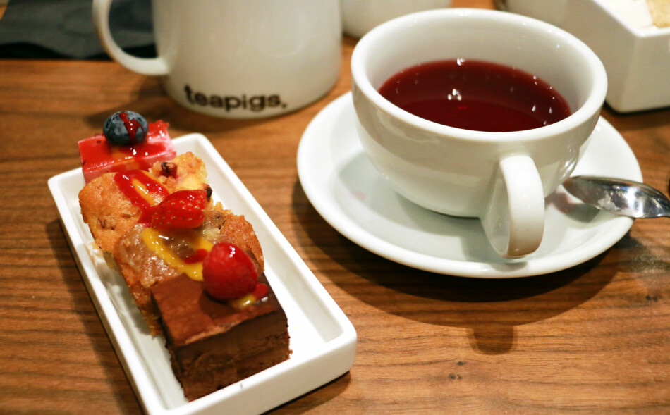 BESTILL AFTERNOON TEA: Du kan få opptil 50 prosent rabatt på det britiske måltidet, om du bestiller på forhånd. Foto: Berit B. Njarga