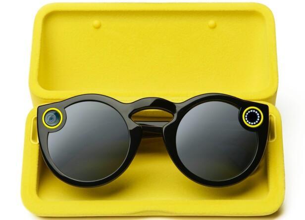 VIDEOBRILLER: Snapchat-brillene selges foreløpig kun til amerikanere. Foto: Produsenten