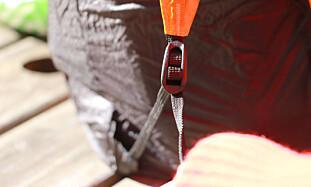 BÆRESTROPPENE KAN STRAMMES: Det gjør også at denne blir veldig behagelig å bære. Foto: Hanna Sikkeland