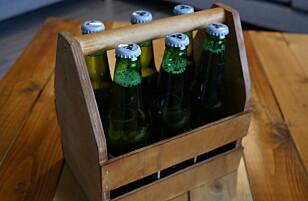 FRAKT: En liten kasse til seks flasker er perfekt å ta med seg rundt. FOTO: Simen Søvik