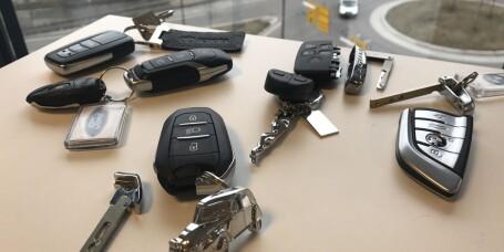 Dette må du betale om du mister bilnøkkelen