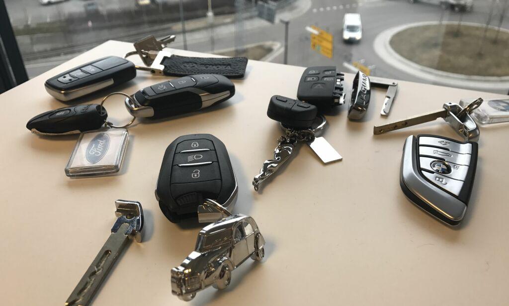 image: Stor oversikt: Så mye koster en ny bilnøkkel