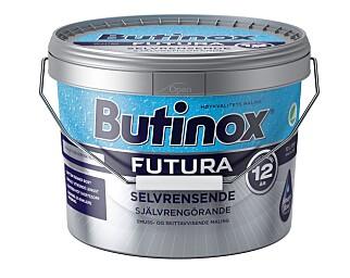 SELVRENSENDE: Butinox Futura selvrensende gir en film på underlaget som gjør at smuss ikke så lett fester seg. Foto: BUTINOX FUTURA