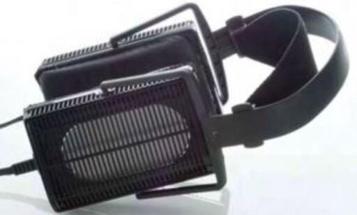 KLASSISK: Stax var blant de første som lagde elektrostatiske hodetelefoner. De lager dem fremdeles, til langt hyggeligere priser enn Sennheiser HE1. Foto: Stax