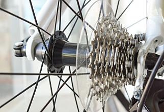 «- Sykkelen har Shimano-gir»