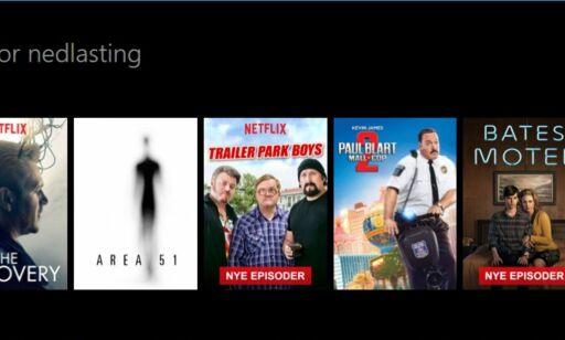 image: Slik laster du ned Netflix-innhold på PC, nettbrett og mobil