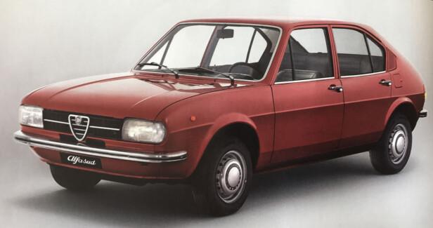 RUSTET OPP: Alfa Romeo Alfasud.